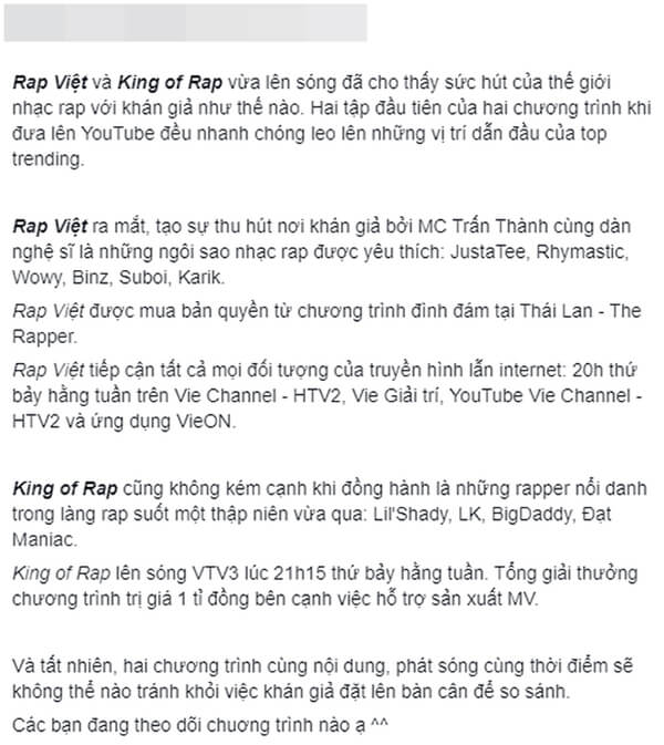 Bài đăng đang gây xôn xao netizen.