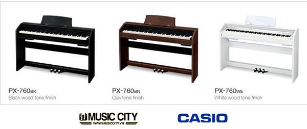 Hình ảnh đàn Casio PX760 tại Music City