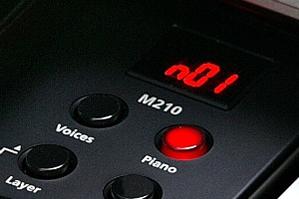 Hình ảnh đàn Kurzweil M210 tại Music City