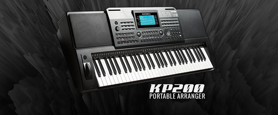 Hình ảnh đàn organ kurzweil KP200 tại Music City
