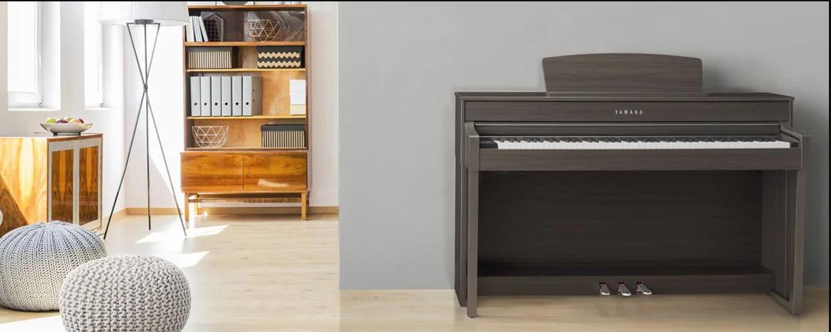 Hình ảnh đàn Piano Yamaha CLP645 tại Music City