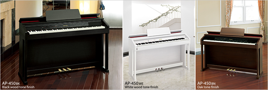 Hình ảnh Đàn Piano Casio AP450 tại Music City